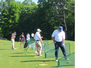 Golf Tee Practice