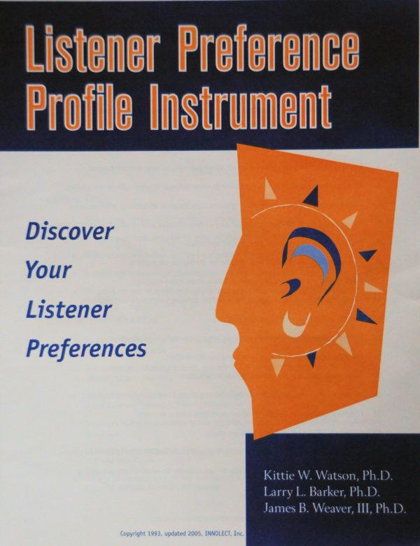 Listener Preference Profile