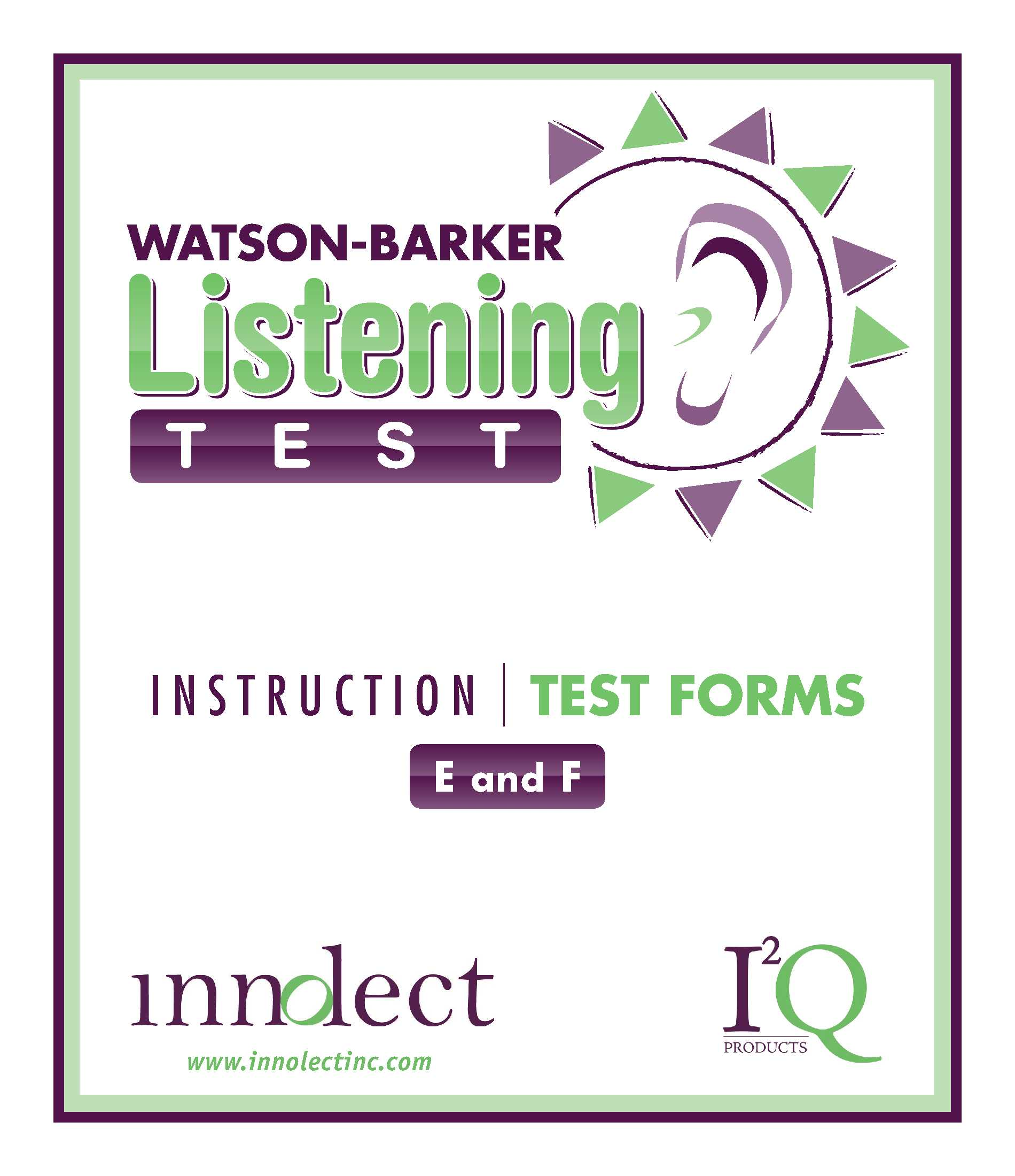 Watson-Barker Listening Test