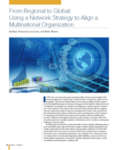 From Regional to Global: Using a Network Strategy to Align a Multinational Organization (HR People + Strategy)
