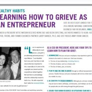 Learning How to Grieve As An Entrepreneur
