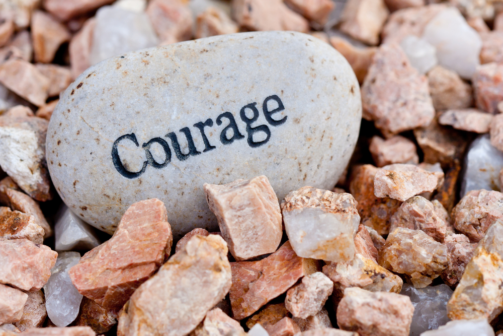 Courage - rock